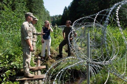 Penktadienį pasienyje su Baltarusija sulaikytas dar 121 neteisėtas migrantas