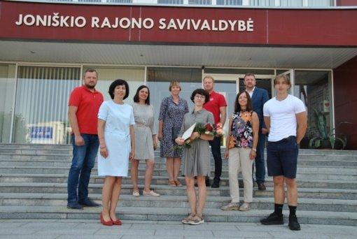 Įteiktas Joniškio rajono garbės ambasadoriaus ženklas