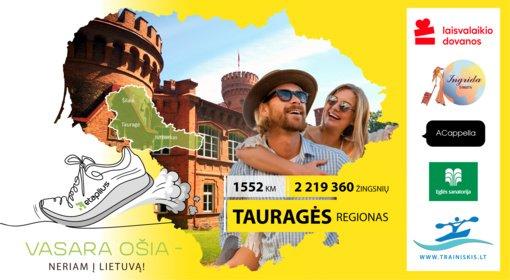 """""""Vasara ošia - neriam į Lietuvą"""": 1552 kilometrai Tauragės regione"""