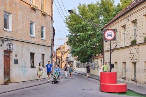 Paupio gatvėje tęsiamas išmanus eismo valdymo testavimas įtraukiant bendruomenę