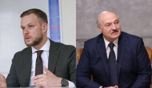G. Landsbergis atsakė A. Lukašenkai: tai nėra pagalba – tai šantažas