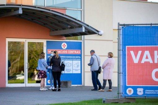 Vakcinavimo komandos Klaipėdoje dirbs ir per Jūros šventę
