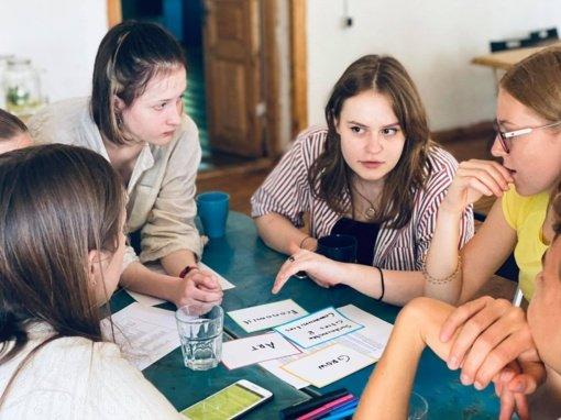Gabiųjų stovykloje Šiaulių jaunimas mokėsi bendruomeniškumo