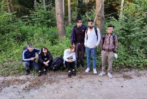 Praėjusią parą pasieniečiai sulaikė dar 110 neteisėtų migrantų iš Baltarusijos
