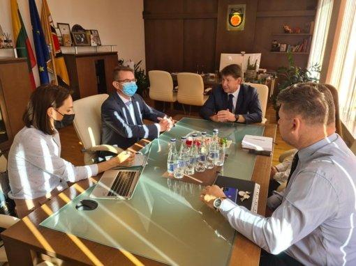 Akmenėje lankosi Sveikatos apsaugos ministras A. Dulkys