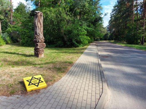 Du Anykščių žydų keliai per miestą