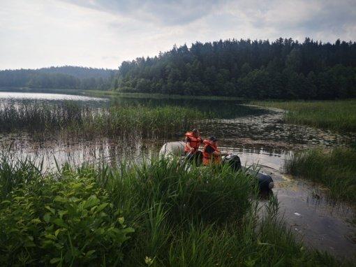 Rietave tirtas maudyklų vanduo