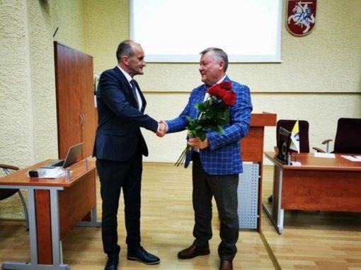 Radviliškio rajono savivaldybės pavaduotojo poste – Vytautas Krikščiūnas
