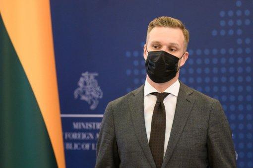 G. Landsbergis: Sovietų okupaciją pasmerkusios JAV elgesys yra pamoka ateičiai