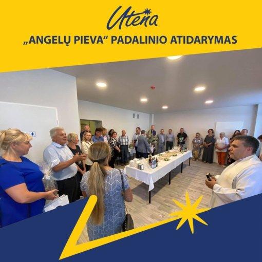 """Utenoje duris atvėrė naujas Krizių centro """"Angelų pieva"""" padalinys"""