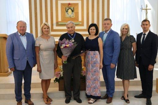 Antanui Gražuliui – Kauno rajono Garbės ženklas