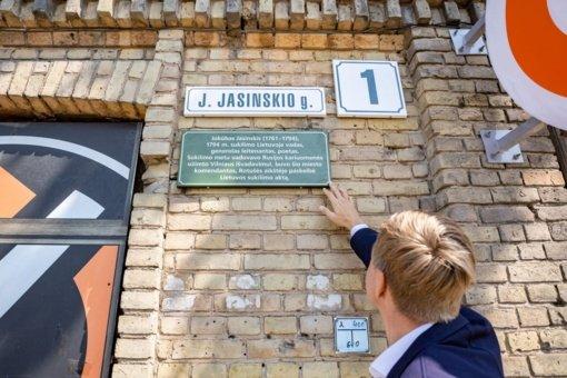 Sostinės gatvių pavadinimų istorijos – ant pirmojo namo lentelės