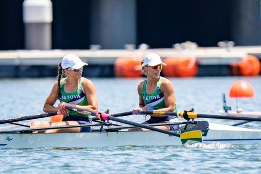 Rio de Žaneiro medalininkės Milda Valčiukaitė ir Donata Karalienė – vėl olimpinių žaidynių finale