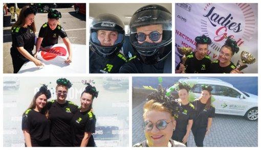 Žalia spalva atnešė pergalę: Ladies Go Green klasėje Etaplius merginos iškovojo I vietą (Vaizdo medžiaga)