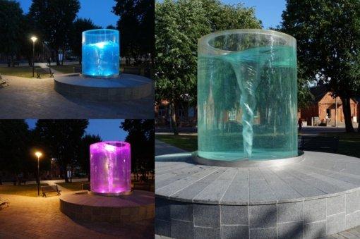 Butrimonių fontanas vėl veikia