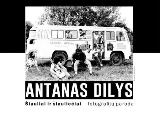 """Antano Dilio fotografijų parodos """"Šiauliai ir šiauliečiai"""" atidarymas"""