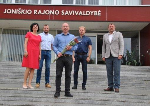 Joniškio rajono savivaldybės Infrastruktūros skyriaus Viešosios tvarkos poskyrį papildė specialistas