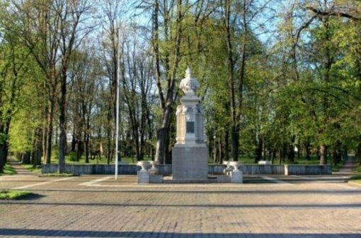 Jurbarke bus restauruotas Lietuvos didžiojo kunigaikščio Vytauto paminklas