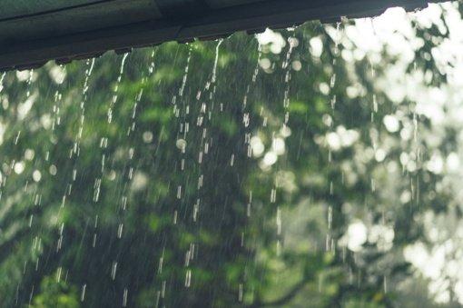 Antradienį vakare Kupiškyje registruotas stichinis lietus