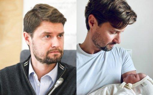 Politikas Mykolas Majauskas su mylimąja Lina susilaukė antros atžalos