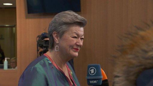 Sekmadienį į Lietuvą atvyks eurokomisarė Y. Johansson