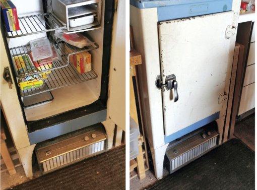 Seniausias Anglijoje  tebeveikiantis  šaldytuvas skaičiuoja  90 metų