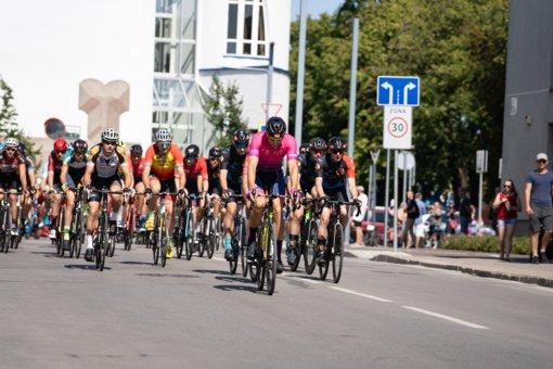 Šiaulių miesto gatvėmis skriejo dviratininkai