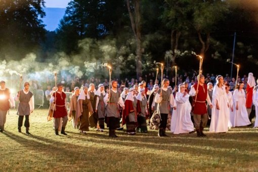 Leipalingyje – karinga protėvių dvasia paženklinta Jotvingių šventė