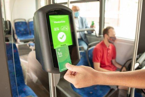 Modernėja Kaune apmokėjimo už važiavimą viešuoju transportu sistema