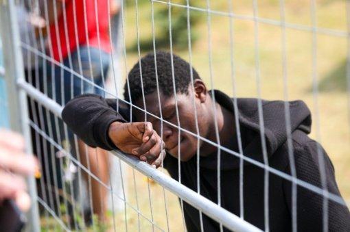 Neteisėtų migrantų apgyvendinimo užkardose pasiekta riba