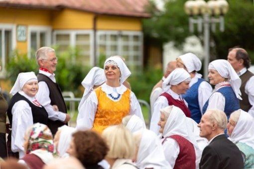 28-oji Dainavos krašto folkloro šventė: autentiškumas, natūralumas, meditacija ir žaidimai