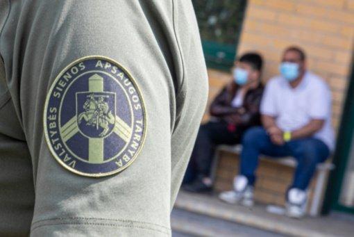 VSAT: 16 migrantų apklausti kaip liudytojai dėl riaušių Verebiejuose