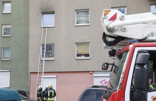Vilniuje iš degančio buto išnešta ir medikams perduota moteris