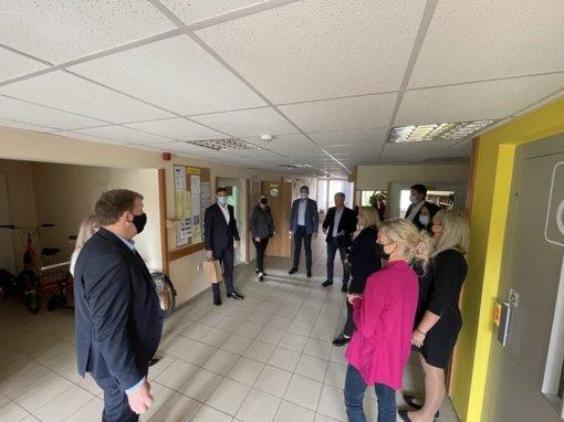 Tauragės rajono mero ir administracijos komandos vizitas Joniškyje