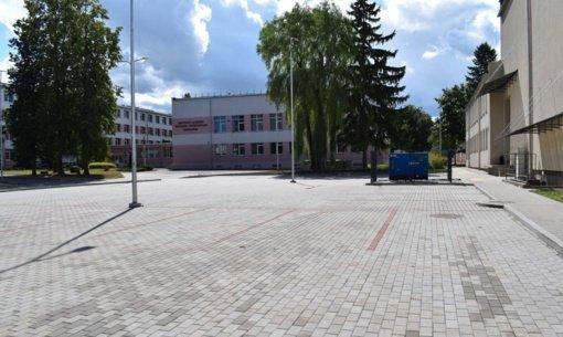 Širvintose įrengta automobilių stovėjimo aikštelė