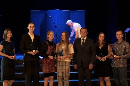 Apdovanoti geriausi Visagino moksleiviai