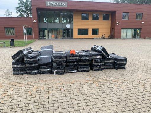 Per savaitę Stasylų geležinkelio poste muitininkai sulaikė tris kontrabandos siuntas traukiniuose iš Baltarusijos