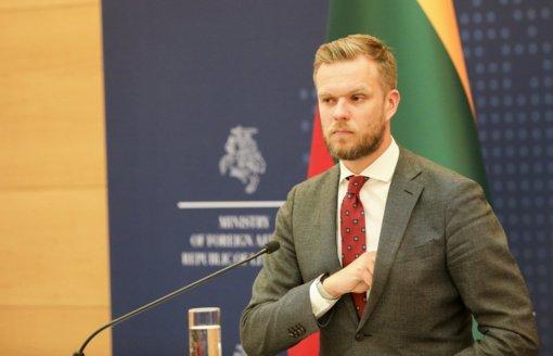 ES ministrų taryboje G. Landsbergis kėlė klausimą dėl situacijos pasienyje su Baltarusija