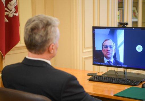 Prezidentas G. Nausėda dėl nelegalios migracijos per Lietuvos-Baltarusijos pasienį paprašė NATO pagalbos