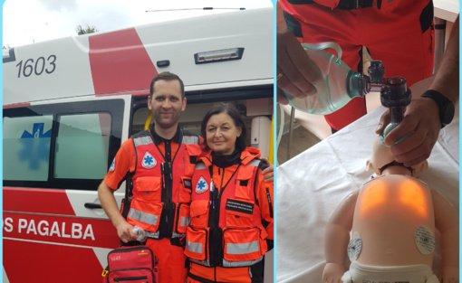 Medikai išgelbėjo COVID-19 sergančios moters namuose pagimdytą naujagimį