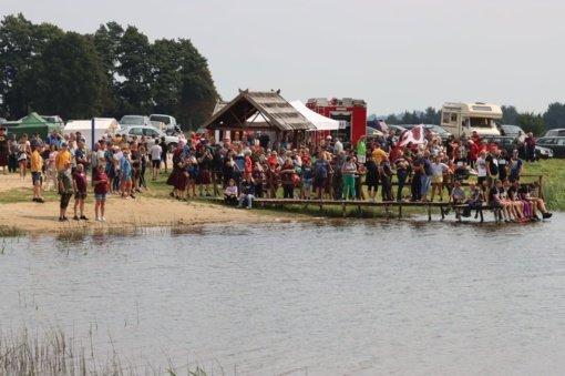 """Kražiuose pirmą kartą vyko """"Drakonų valčių festivalis"""""""