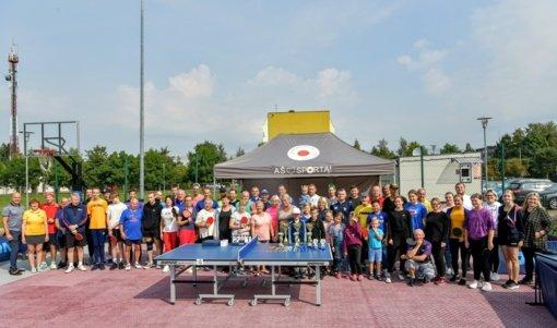 Akmenėje karaliavo stalo tenisas
