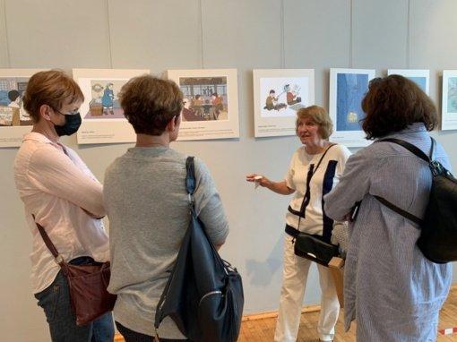 Zarasų krašto muziejuje – Al Jaffee piešinių reprodukcijų paroda