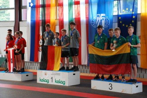 Lazdijiečiai dalyvavo Europos aisštoko čempionate