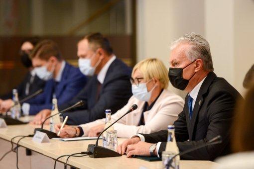 Prezidentas: Lietuvos sporto sistemoje neturi likti spragų