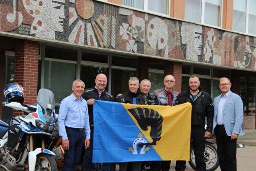 """Mototurizmo ralyje Kėdainių rajonui atstovaus komanda """"Račiokai"""""""