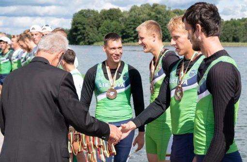 Trakuose medalius išsidalijo pajėgiausios Lietuvos irkluotojų įgulos