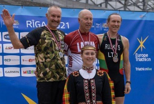 Latvijos sprinto triatlono čempionate — trečias