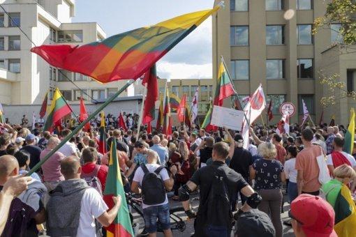 Teismas atsisakė nagrinėti rugsėjo 10-ąją prie Seimo planuojamo mitingo organizatoriaus skundą