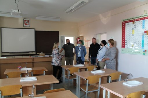 Tauragės rajone vertinamas švietimo įstaigų pasiruošimas naujiems mokslo metams